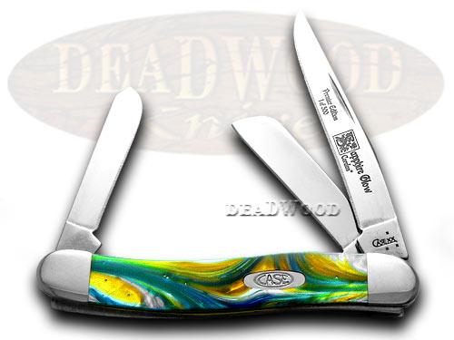 Case xx Genuine Sapphire Corelon 1/500 Stockman Pocket Knife Knives