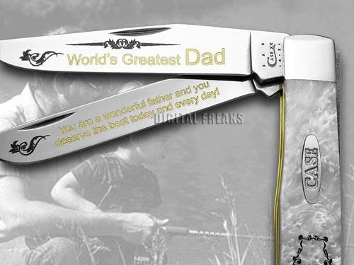 CASE XX White Pearl Corelon World's Greatest Dad 1/600 ...