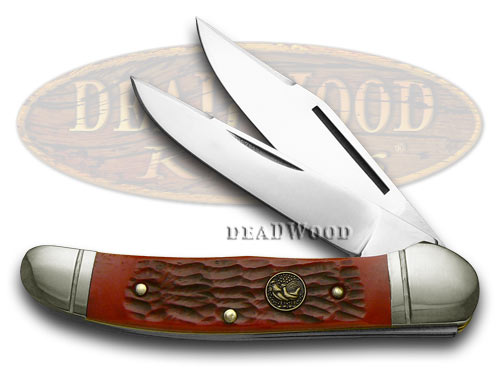 Hen & Rooster Red Pickbone Copperhead Pocket Knife Knives