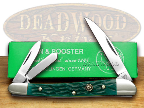 Hen and Rooster Knives HEN & ROOSTER AND Green Picked Bone