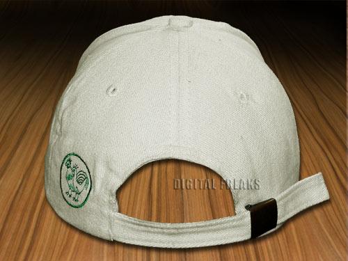 hen rooster white cotton hat baseball rossignol cap