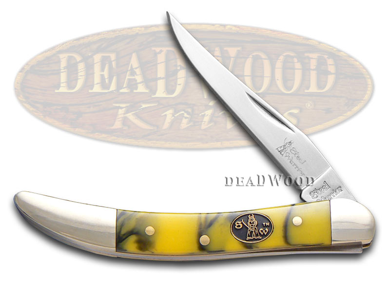 Steel Warrior Funky Monkey Composite Small Toothpick Stainless Pocket Knife Knives