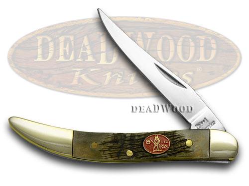 Steel Warrior Genuine Ram Horn Toothpick Pocket Knife Knives