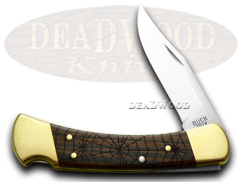 BUCK 110 Wood Folding Hunter Recluse 1/400 Knife Knives