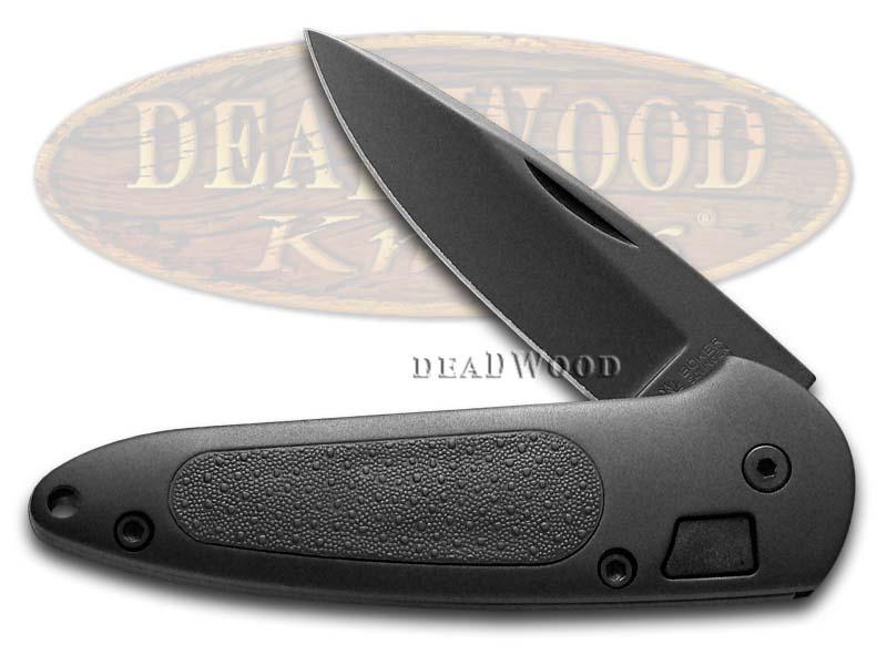 Boker Tree Brand Black Aluminum Top Lock 2 Law Enforcement Stainless Pocket Knife
