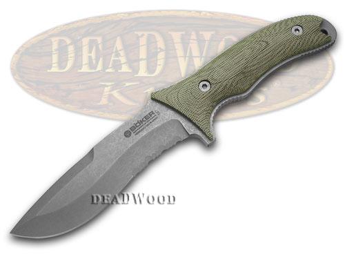 Boker Tree Brand Micarta Fixed Blade Orca Knife Knives