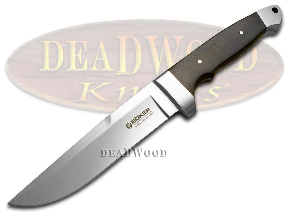Boker Tree Brand Grenadill Wood Vollintegral Fixed Blade Knife Knives
