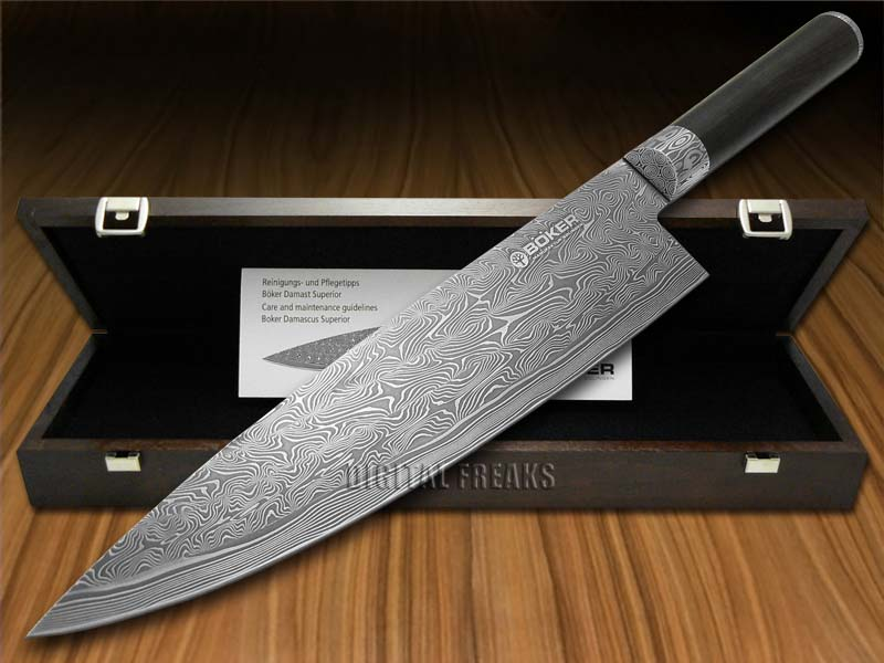 brands of kitchen knives boker tree brand superior damascus kitchen cutlery 16482