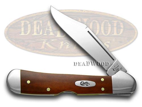 Case XX Chestnut Bone Mini Copperlock Pocket Knife