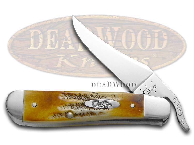 Case XX 6.5 Bonestag Russlock Stainless Pocket Knife Knives