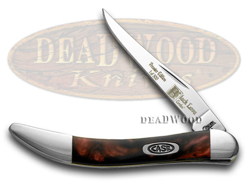 Case XX Black Lava Genuine Corelon 1/500 Toothpick Pocket Knife Knives