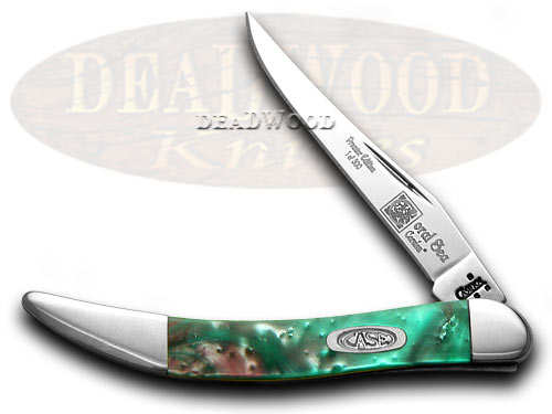 Case XX Coral Sea Genuine Corelon 1/500 Toothpick Pocket Knife Knives