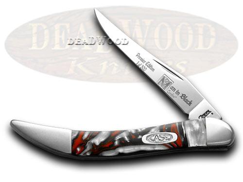 Case XX Man In Black Genuine Corelon 1/500 Toothpick Pocket Knife Knives
