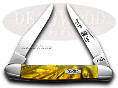 Case XX 24K Genuine Corelon Muskrat 1/500 Pocket Knife Knives
