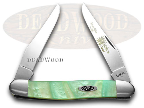 Case XX Genuine Rainbow Corelon 1/500 Muskrat Pocket Knife Knives