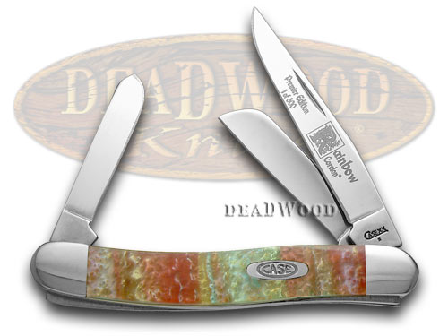 Case XX Rainbow Genuine Corelon 1/500 Stockman Pocket Knife Knives