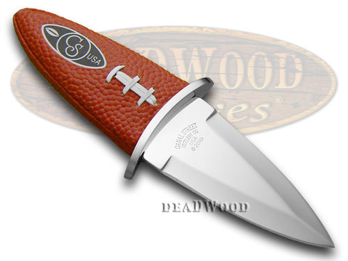 "Canal Street CUTLERY CO ""Carry the Football"" Leather Knife"