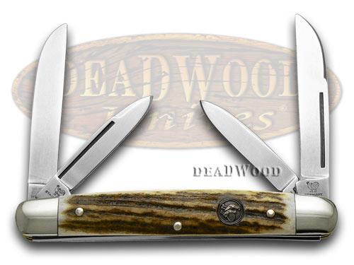 Hen & Rooster Deer Stag Congress Pocket Knife