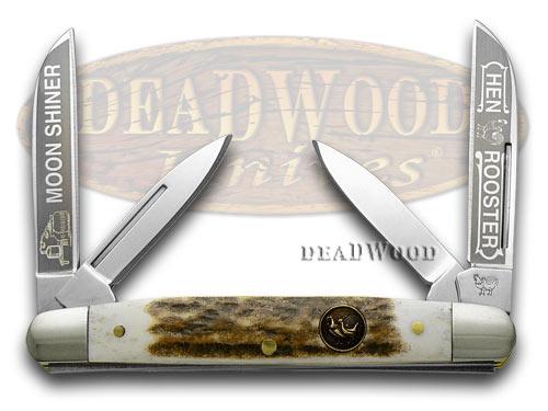 Hen & Rooster Deer Stag Moon Shiner Congress Pocket Knife