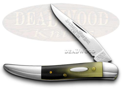 Schatt & Morgan Longhorn Toothpick SFO 1/150 Pocket Knife Knives