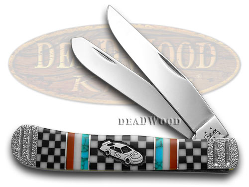 Case XX Yellowhorse 1/25 Winners Circle Trapper Limited Edition Pocket Knife Knives